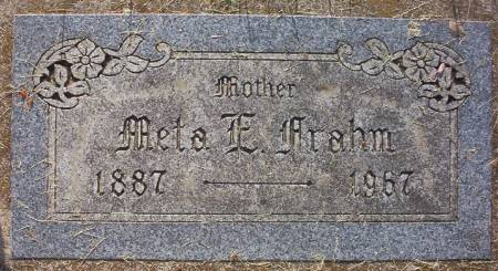 FRAHM, META ELIZABETH - Plymouth County, Iowa | META ELIZABETH FRAHM