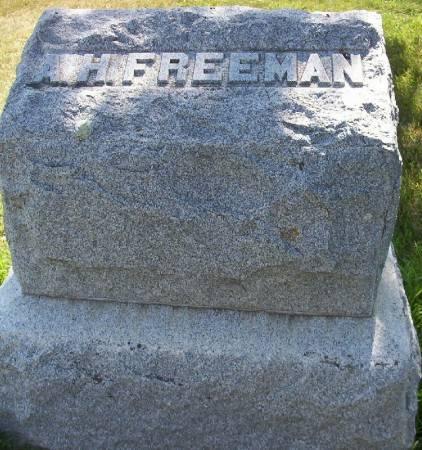FREEMAN, A.H. - Plymouth County, Iowa | A.H. FREEMAN