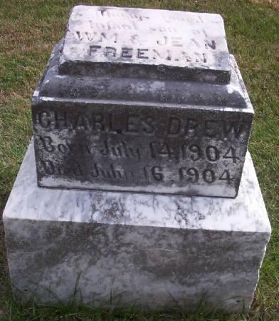 FREEMAN, CHARLES DREW - Plymouth County, Iowa | CHARLES DREW FREEMAN