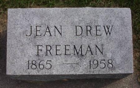 DREW FREEMAN, JEAN - Plymouth County, Iowa | JEAN DREW FREEMAN