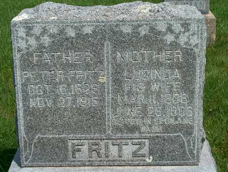 FRITZ, PETER - Plymouth County, Iowa | PETER FRITZ