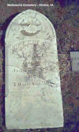 NUSSELL, GEORGE - Plymouth County, Iowa | GEORGE NUSSELL