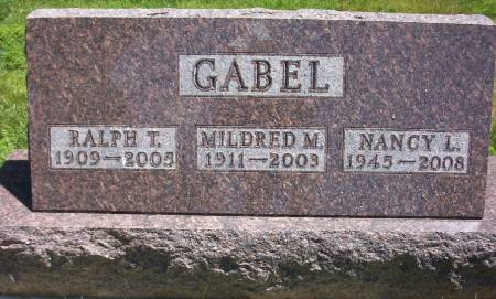 PHILIPS GABEL, MILDRED MARIA - Plymouth County, Iowa | MILDRED MARIA PHILIPS GABEL