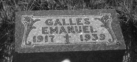 GALLES, EMANUEL - Plymouth County, Iowa | EMANUEL GALLES
