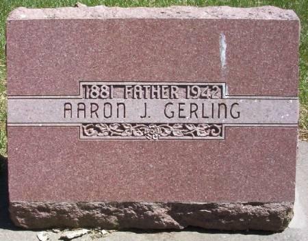 GERLING, AARON J. - Plymouth County, Iowa   AARON J. GERLING