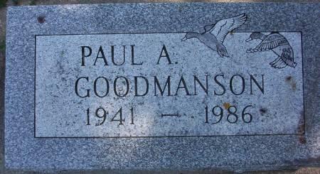 GOODMANSN, PAUL A. - Plymouth County, Iowa | PAUL A. GOODMANSN