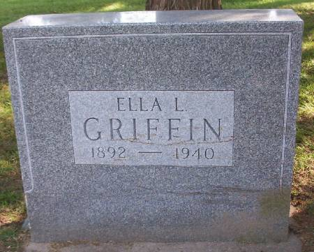 GRIFFIN, ELLA L. - Plymouth County, Iowa | ELLA L. GRIFFIN