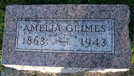 GRIMES, AMELIA - Plymouth County, Iowa | AMELIA GRIMES