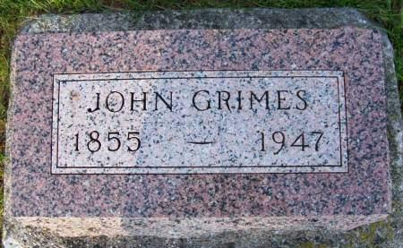GRIMES, JOHN GILMAN - Plymouth County, Iowa | JOHN GILMAN GRIMES