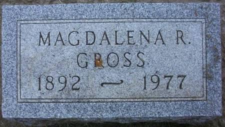 GROSS, MAGDALENA R. - Plymouth County, Iowa   MAGDALENA R. GROSS