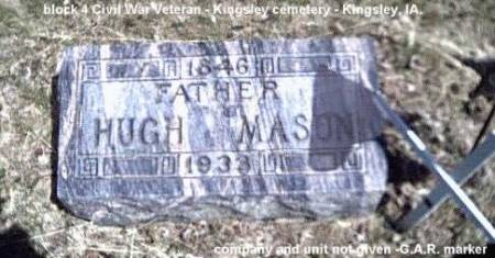 MASON, HUGH - Plymouth County, Iowa | HUGH MASON