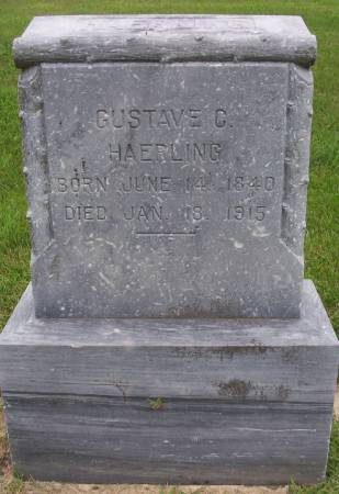 HAERLING, GUSTAVE C. - Plymouth County, Iowa | GUSTAVE C. HAERLING