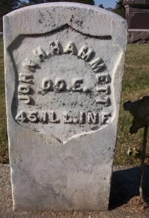 HAMMETT, JOHN H. - Plymouth County, Iowa   JOHN H. HAMMETT