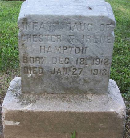 HAMPTON, HELEN IRENE - Plymouth County, Iowa | HELEN IRENE HAMPTON