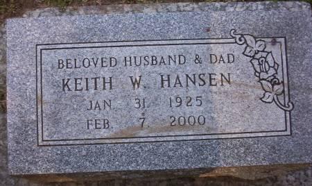 HANSEN, KEITH WILLIAM - Plymouth County, Iowa | KEITH WILLIAM HANSEN