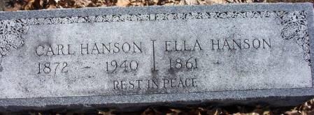 HANSON, ELLA E. - Plymouth County, Iowa | ELLA E. HANSON