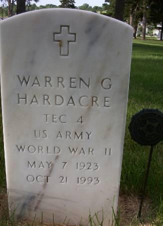 HARDACRE, WARREN G. - Plymouth County, Iowa   WARREN G. HARDACRE