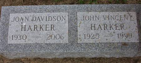 HARKER, JOHN VINCENT - Plymouth County, Iowa | JOHN VINCENT HARKER