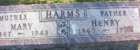 HARMS, MARY ELIZABETHT - Plymouth County, Iowa | MARY ELIZABETHT HARMS