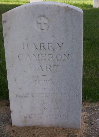 HART, HARRY CAMERON - Plymouth County, Iowa | HARRY CAMERON HART