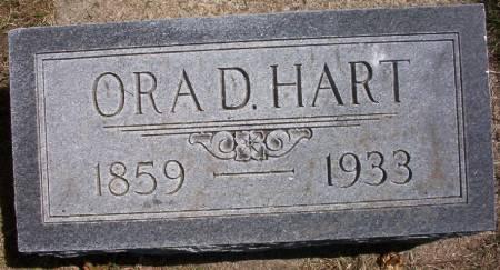 HART, ORA D. - Plymouth County, Iowa | ORA D. HART