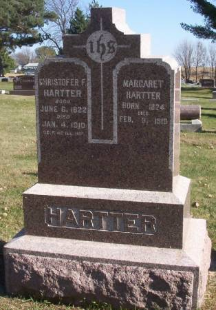 HARTTER, CHRISTOFER F. - Plymouth County, Iowa | CHRISTOFER F. HARTTER
