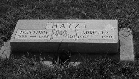 HATZ, ARMELIA - Plymouth County, Iowa | ARMELIA HATZ