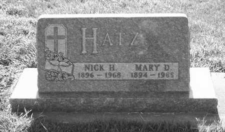 HATZ, MARY D. - Plymouth County, Iowa | MARY D. HATZ