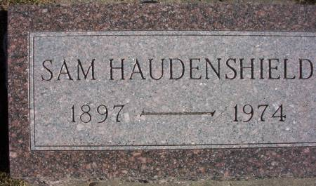 HAUDENSHIELD, SAMUEL - Plymouth County, Iowa   SAMUEL HAUDENSHIELD