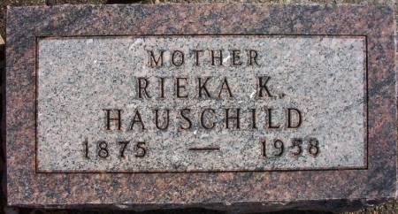 HAUSCHILD, RIEKA K. - Plymouth County, Iowa | RIEKA K. HAUSCHILD