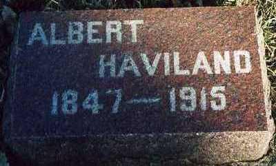 HAVILAND, ALBERT - Plymouth County, Iowa | ALBERT HAVILAND