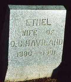 HAVILAND, ETHEL EVA - Plymouth County, Iowa | ETHEL EVA HAVILAND