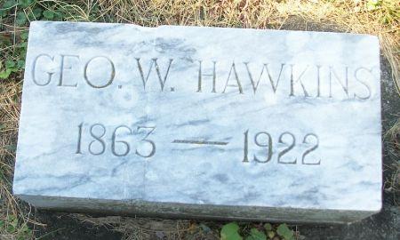 HAWKINS, GEORGE W. - Plymouth County, Iowa   GEORGE W. HAWKINS