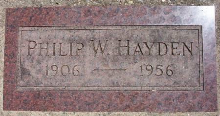 HAYDEN, PHILIP W. - Plymouth County, Iowa | PHILIP W. HAYDEN