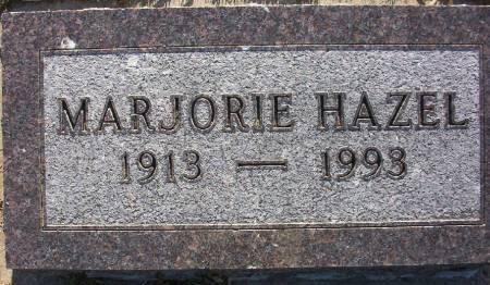 HAZEL, MARJORIE - Plymouth County, Iowa   MARJORIE HAZEL