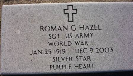 HAZEL, ROMAN G. - Plymouth County, Iowa | ROMAN G. HAZEL