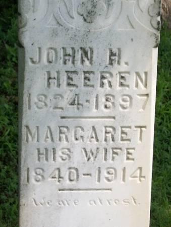 HEEREN, MARGARET - Plymouth County, Iowa   MARGARET HEEREN