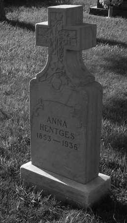 HENGTES, ANNA - Plymouth County, Iowa   ANNA HENGTES