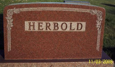 HERBOLD, TOMBSTONE - Plymouth County, Iowa | TOMBSTONE HERBOLD
