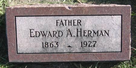 HERMAN, EDWARD ALEXANDER - Plymouth County, Iowa   EDWARD ALEXANDER HERMAN