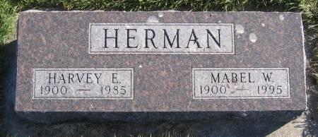 HERMAN, HARVEY EMERY - Plymouth County, Iowa | HARVEY EMERY HERMAN