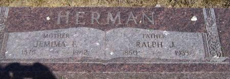 HERMAN, JEMIMA - Plymouth County, Iowa | JEMIMA HERMAN