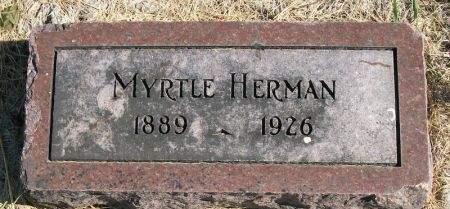 HERMAN, MYRTLE - Plymouth County, Iowa   MYRTLE HERMAN