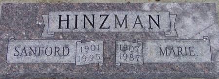 HINZMAN, MARIE EFFIE - Plymouth County, Iowa | MARIE EFFIE HINZMAN