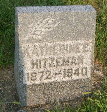 HITZEMAN, KATHERINE E. - Plymouth County, Iowa | KATHERINE E. HITZEMAN