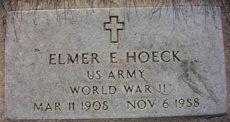 HOECK, ELMER E.