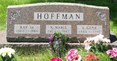 HOFFMAN, N. MARIE - Plymouth County, Iowa   N. MARIE HOFFMAN