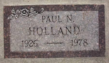 HOLLAND, PAUL N. - Plymouth County, Iowa | PAUL N. HOLLAND