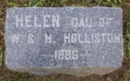 HOLLISTON, HELEN - Plymouth County, Iowa   HELEN HOLLISTON