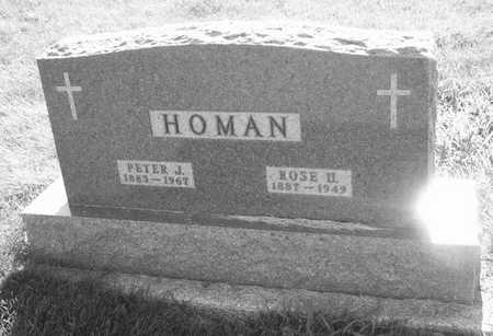 HOMAN, PETER J. - Plymouth County, Iowa | PETER J. HOMAN